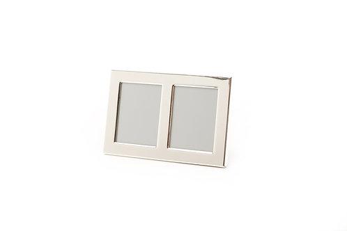 Double Silver Memento Frame