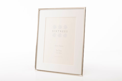 SIXTREES PARK LANE SILVER PHOTO FRAME