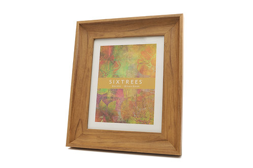Alice Holt wide chunky wooden style photo frame
