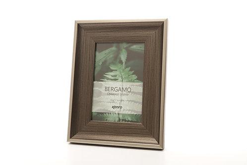 Kenro Bergamo Charcoal and silver frame