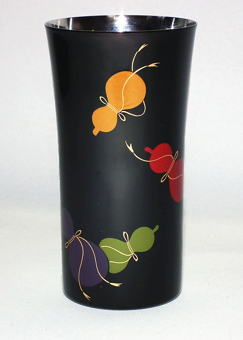 Lacquer stainless beer cup  (six calabashes/small)