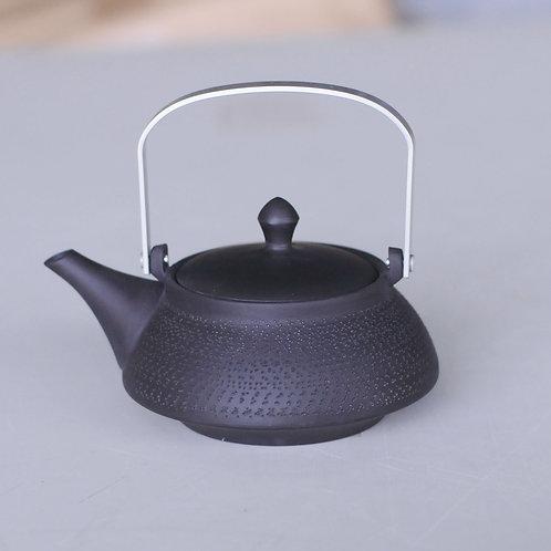 Ceramic tea pot (black/Tokoname ware)