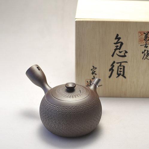 Vintage ceramic tea pot designed by Jitsuzan Ito (ver.02)