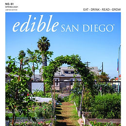 """Edible San Diego- MAKE Projects """"A Taste of Home"""""""