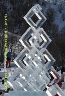 Pierre Callon - Sculpture glace