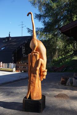 Hugues Grammont - Sculpture bois