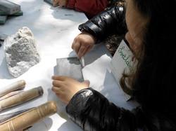 Atelier sculpture pierre