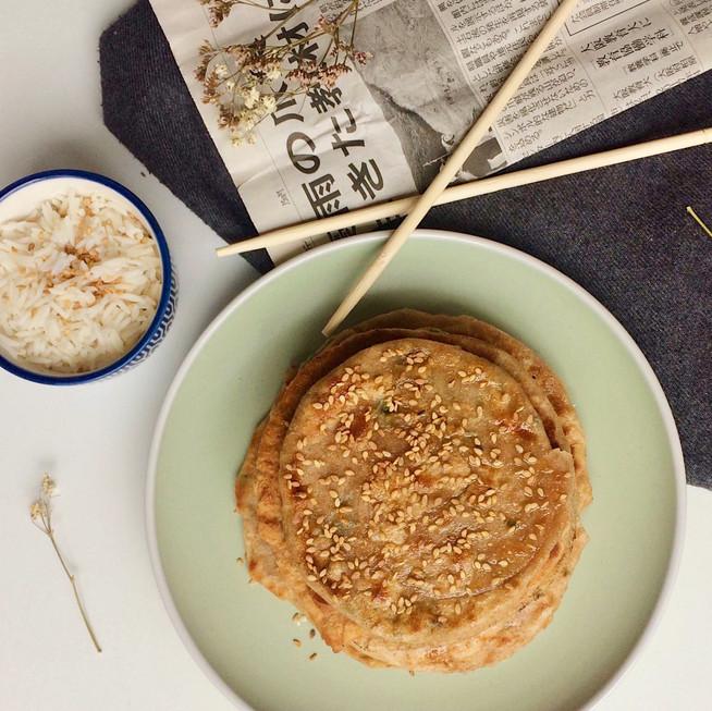 Pancake chinois à la farine complète