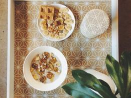 Perles de tapioca à la banane caramelisée