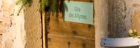 """Entrée du Gîte """"L'Atelier"""""""