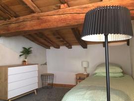 """Chambre 2 du Gîte """"l'Atelier"""""""