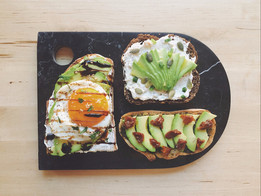 Mes Avocado Toast en trois façons