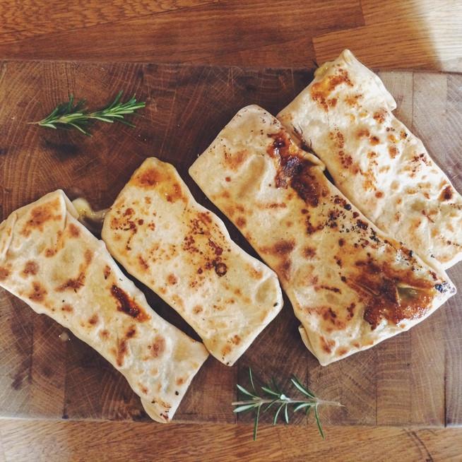 Gözleme mozzarella & épinards