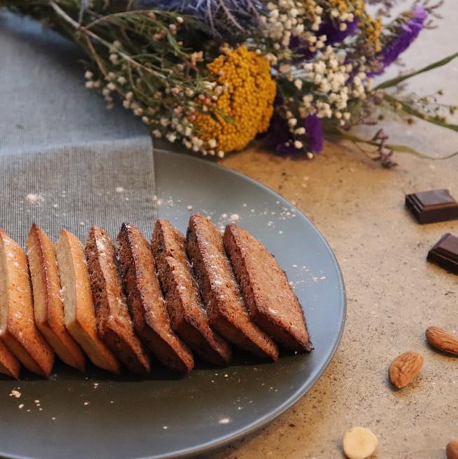 Financier amande ou chocolat de Boubou