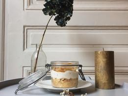 Cheese-cake poires & châtaignes