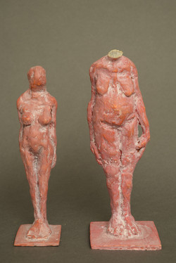 Two standing figures- 3