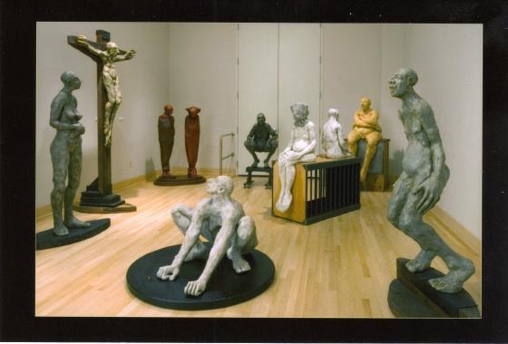 Brauer Museum gallery installation