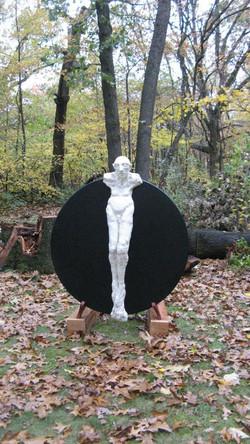 Crucified figure