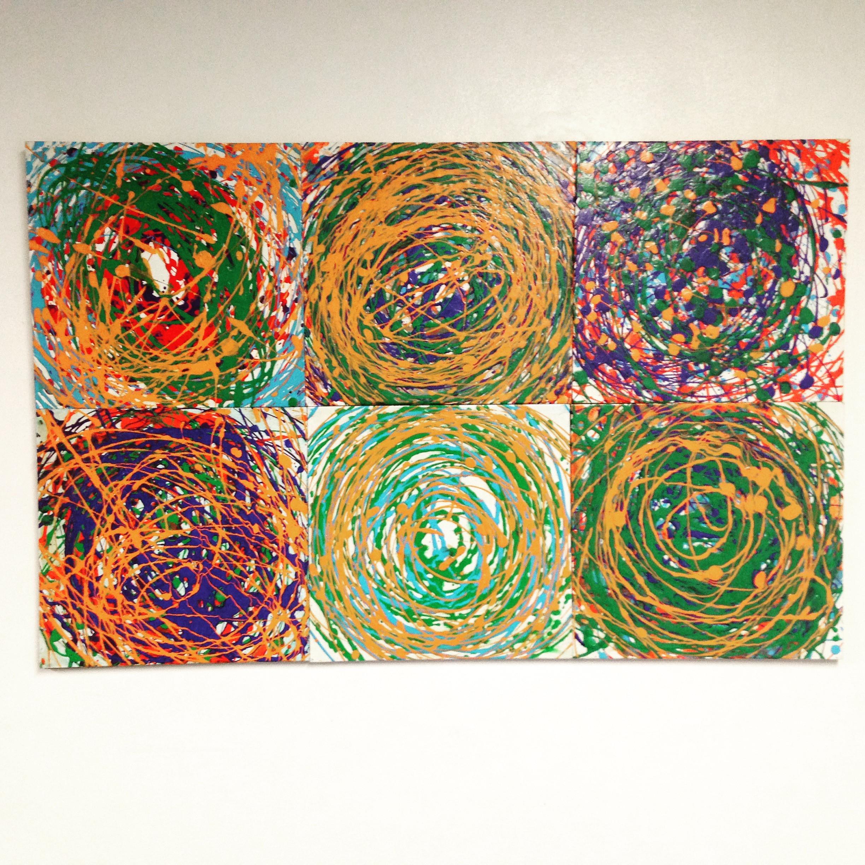 `Pollock/ Kandinsky workshop