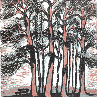 Mary Harris - Woodcut prints