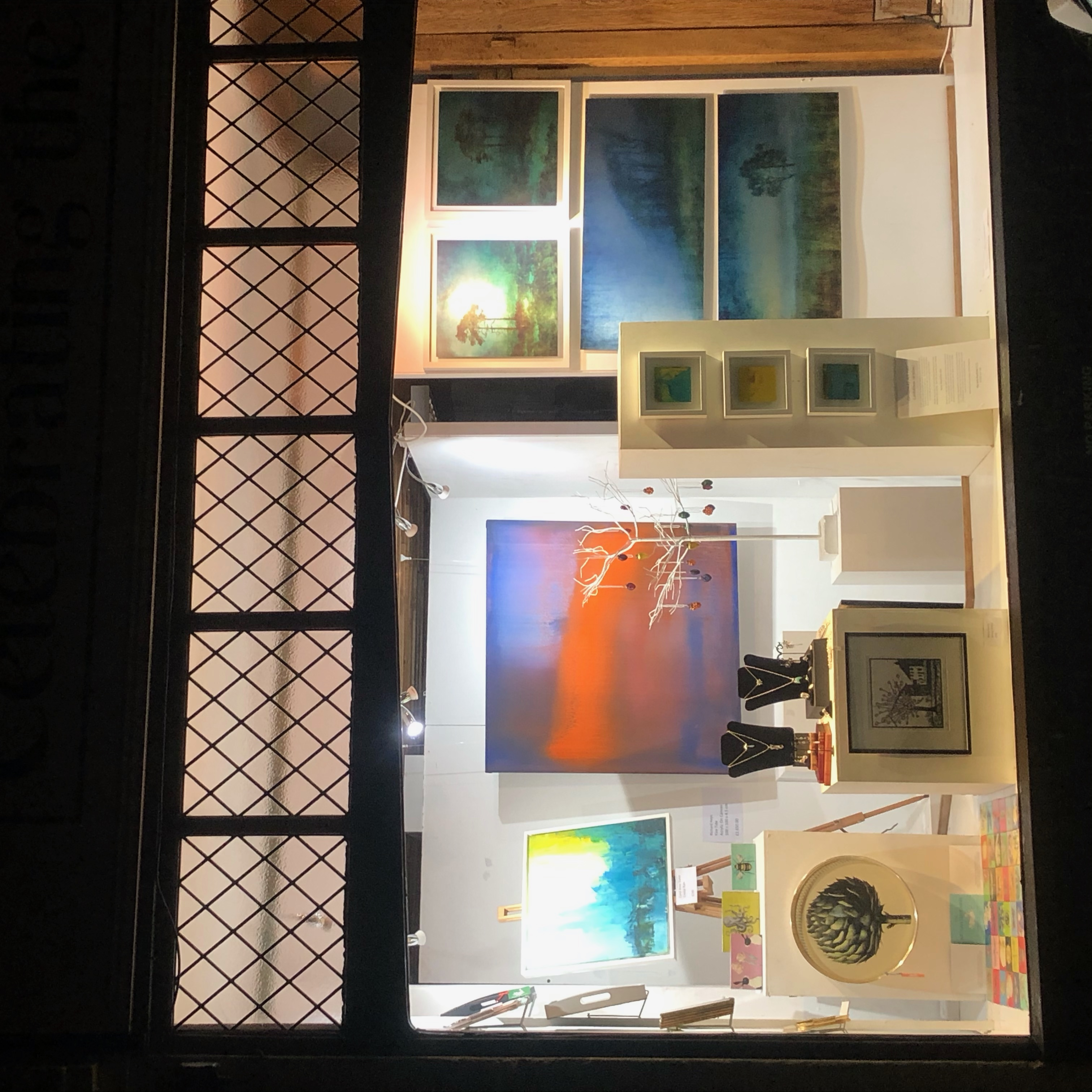 Mayfield Christmas Fair Window
