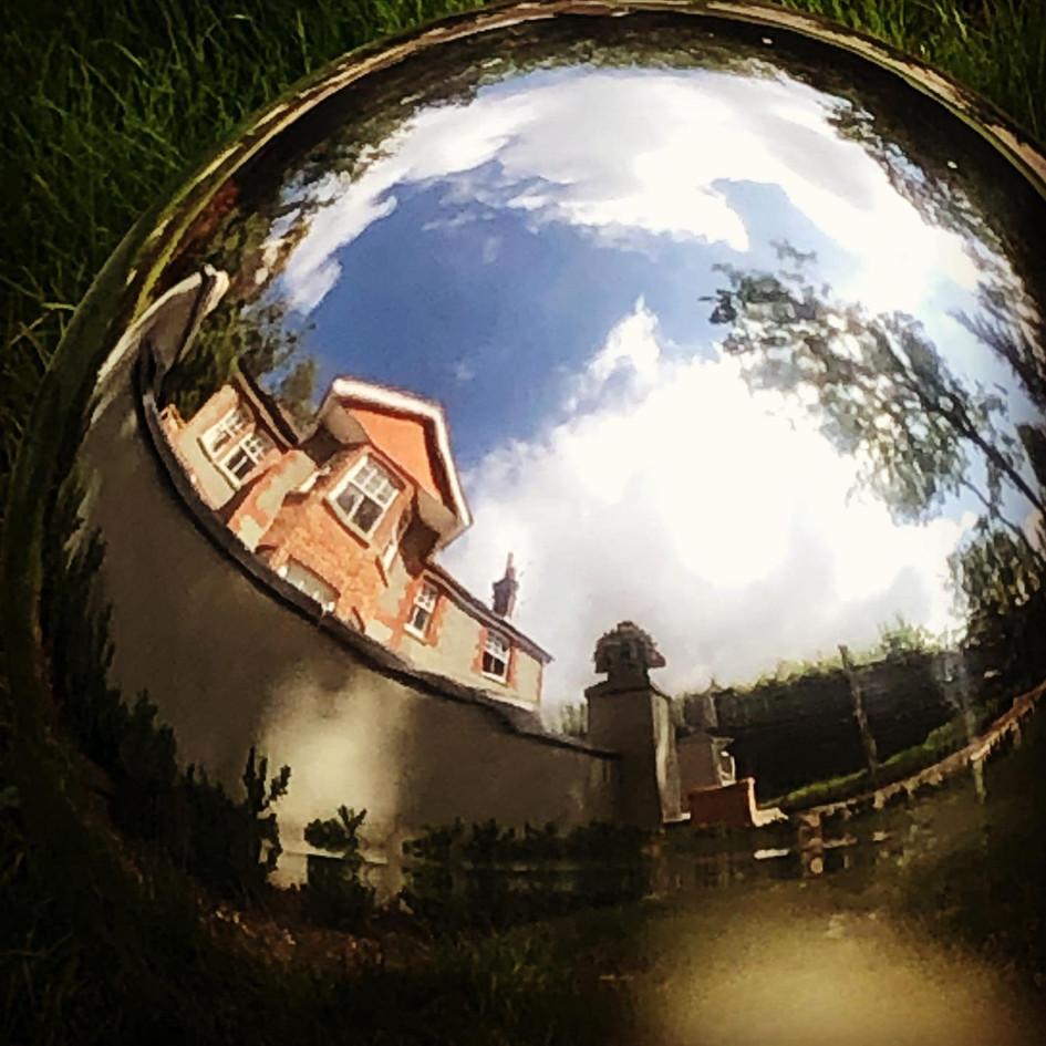Polished Steel sphere