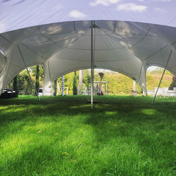 Capri marquee without sides