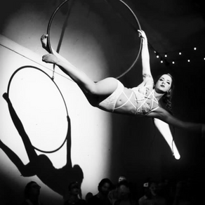 Aerial Hoop Performance with Live music & Afternoon Tea