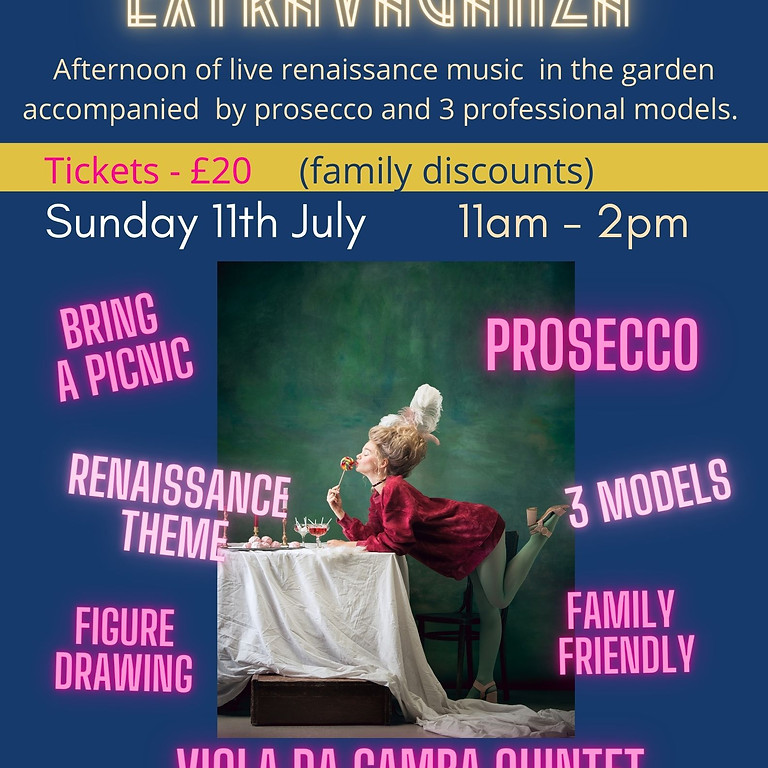 Summer Extravaganza with Live Music & Prosecco