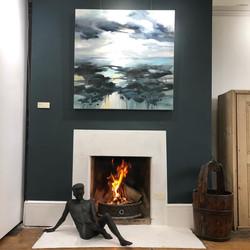 Room 2 fireplace