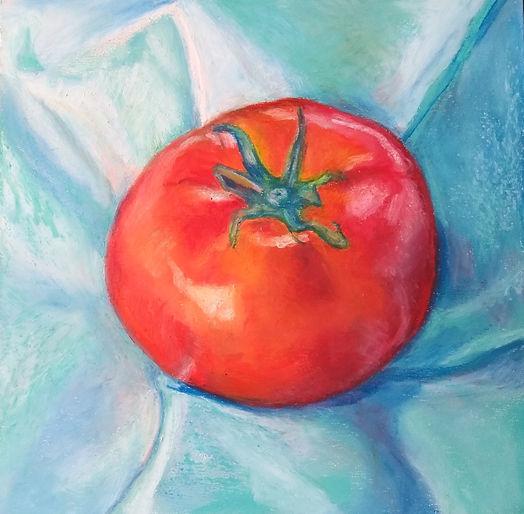 Tomato in Blue