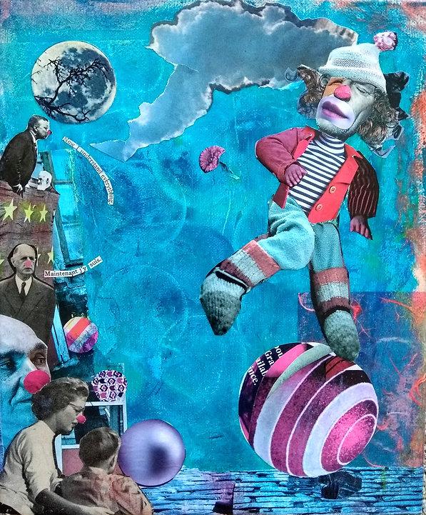 Collage, Nancy Douglas
