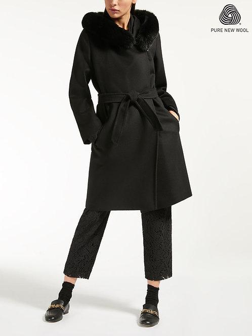 Max Mara manteau 3Mango gris foncé ou noir
