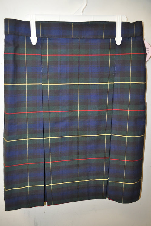 Plaid skirt, Kick Pleat, Half sizes