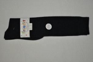 Navy Smooth Cotton Knee Socks, 3/pkg
