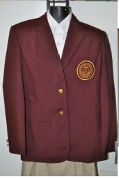 Maroon School Blazer (Female) (grade 9-11)