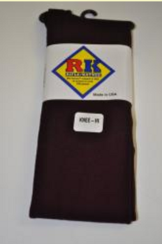 Maroon Smooth Knee Socks, Nylon (Female) 3 pair/pk