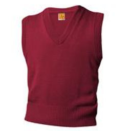 Cardinal Sweater Vest With Embroidery (grades 9-11)