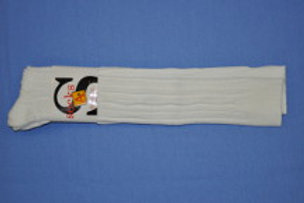 White Cable Knee Socks, 3/pkg