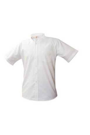 Oxford Shirt, Short Sleeve, White Grades 6-8