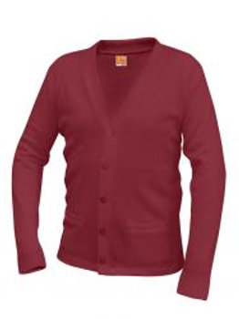 Cardinal Athletic Cardigan With Embroidery (grades 9-11)