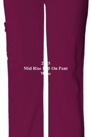 2085 MID RISE KNIT WAIST PULL-ON PANT