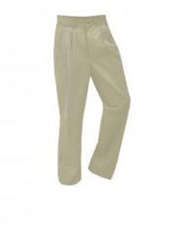 Pleated Khaki Slacks, with BMHS monogram (Male) (Prep Sizes) (grades 9-12)
