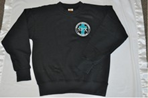 PE sweatshirt, with School Emblem PreK(everyday) K-8(PE Uniform)