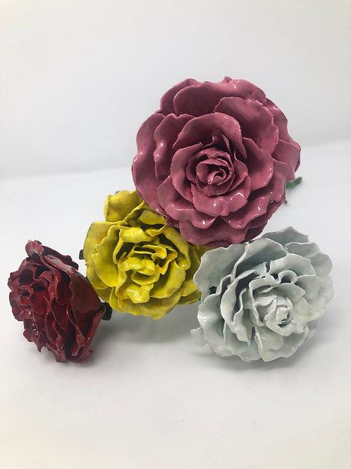 Single Metal Roses