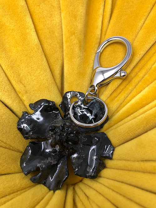 Distressed 2020 Dogwood Keychain