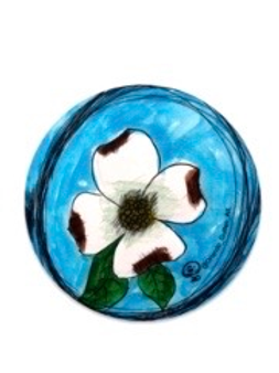 Dogwood Circle Decal