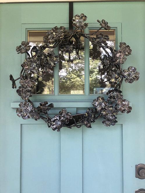 Distressed Dogwood Wreath