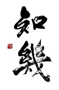 Aikido Dojo Zentrum Calligraphy-Precognition