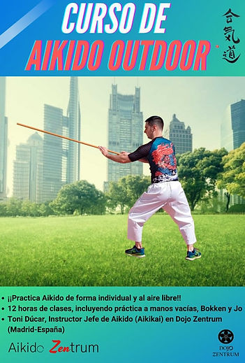 Cartel del curso 'AIKIDO OUTDOOR'